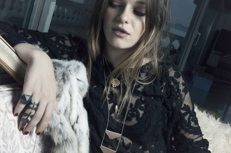Maggoosh Jewelry - The After Party Lookbook FW13/14 - #editorial #photoshoot #jewelry