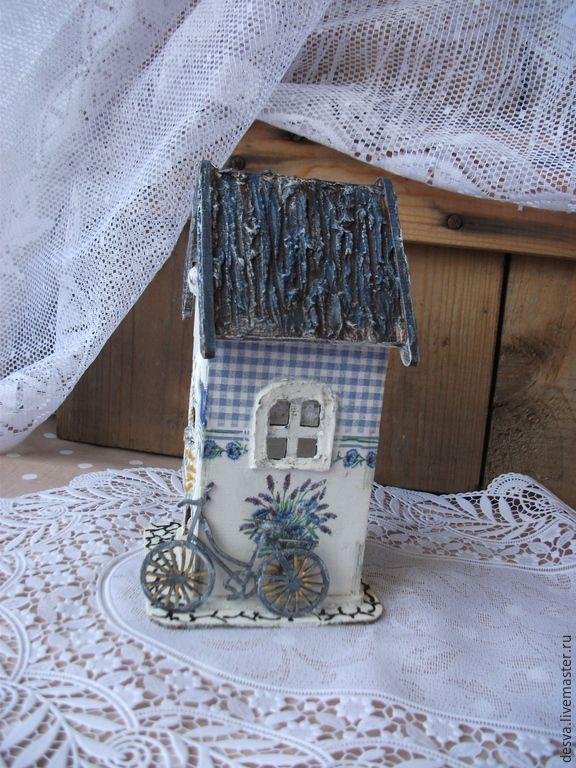 """Купить Чайный домик """"Букет лаванды"""" - синий, чайный домик, чайный домик в подарок"""