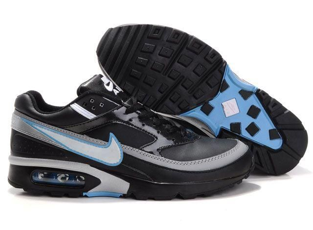 Mens Nike Air Max 91 Classic Trainers Blue/Black/Grey For Sale