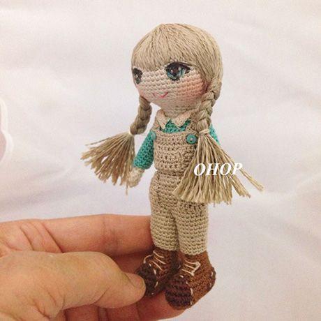 Crochet doll by ohopshop ♡ (Inspiration).