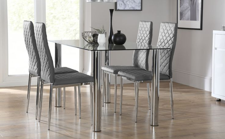 Solar Round Chrome And Glass Dining Table With 4 Renzo: 35 Best Heart Of Glass Images On Pinterest