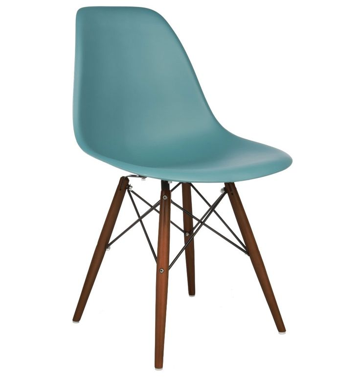The Matt Blatt Replica Eames DSW Side Chair - Plastic by Charles and Ray Eames - Matt Blatt