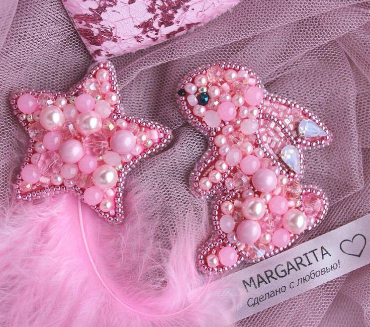 """Розовая нежность. """"Зефирная зая """"и звездочка-зефирка Выполнены на заказ для маленькой принцессы и уже в пути в Смоленскую область #брошь #брошьспб #брошьзайка #брошьзвезда #брошьназаказ #брошьзаяц #брошьрозовыйзаяц #зефирнаязая #брошьспб #брошьвподарок #брошьвподарокназаказ #брошьдлядочки #брошьдлядевочки #приозерскмаргарита #украшенияспб #брошькупитьспб"""