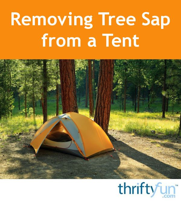 If your tent is under a tree for a while, it may get some tree sap on it. Isopropyl alcohol, preferably 99% or 91%, can be very useful for removing tree sap from things. This is a guide about removing tree sap from a tent.