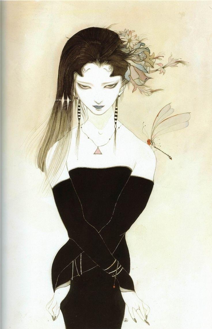 비천 飛天 - 아마노 요시타카 天野喜孝 16~25 : 네이버 블로그