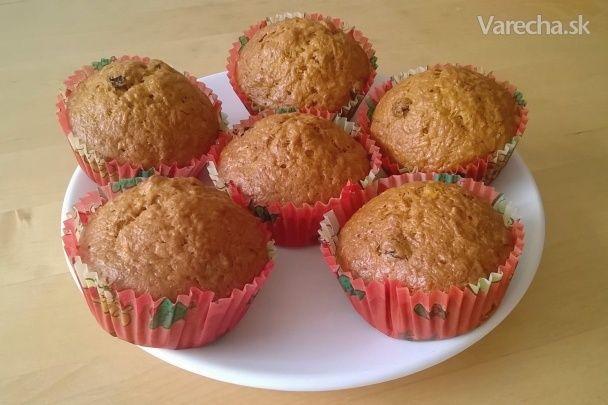 Zdravšie mrkvové muffinky
