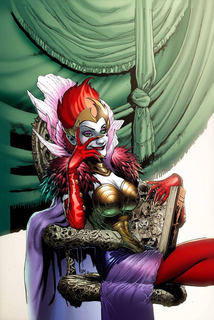 Queen of fables created by Gail Simone, Mark Waid and Bryan Hitch