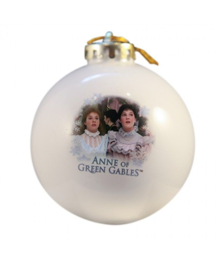 These ornaments feature an image of Anne and Diana, memorized by the finery of the Christmas Ball! Sturdy, and shatterproof (plastic balls).