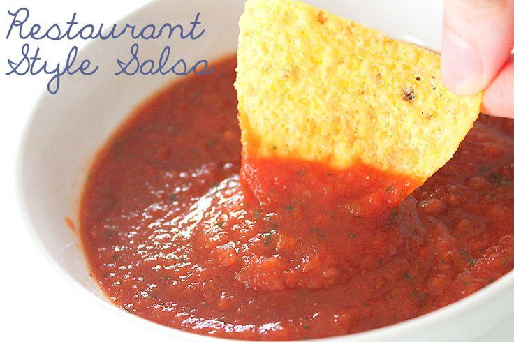 Mexican Restaurant Salsa and Guacamole Recipe