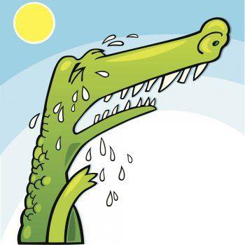 El cocodrilo gigante, un poema con moraleja para niños.