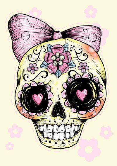 Baby Sugar Skull April 2017