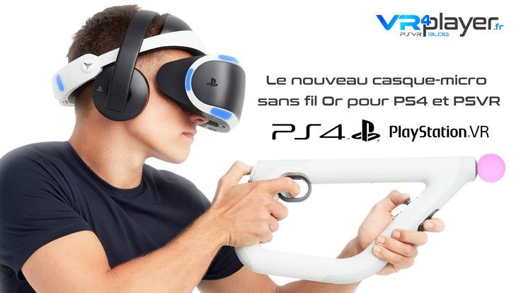 #PlayStationVR #PSVR  #RealiteVirtuelle #VR PS4, PlayStation VR : le nouveaux casque-micro sans fil or bientôt disponible en Europe https://www.vrplayer.fr/ps4-playstation-vr-casque-audio-gold/