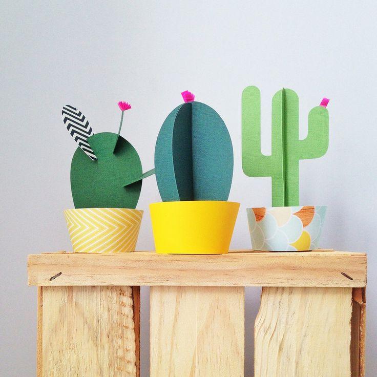 Lo reconozco, soy un desastre con las plantas. Aunque en realidad poco tengo que admitir, porque los que me conocen ya lo saben de sobra, a mi se me mueren hasta los cactus. Pero tengo lasolucióndefinitivapara que no se sequen, usar plantas y flores de papel. He encontrado algunas ideas que me...