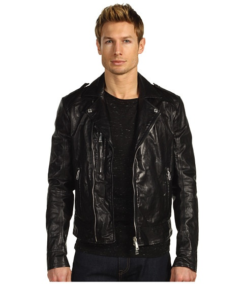 DSQUARED2 Kiodo Leather Bomber