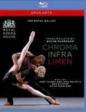 Three Ballets by Wayne McGregor: Chroma/Infra/Limen [Blu-ray]