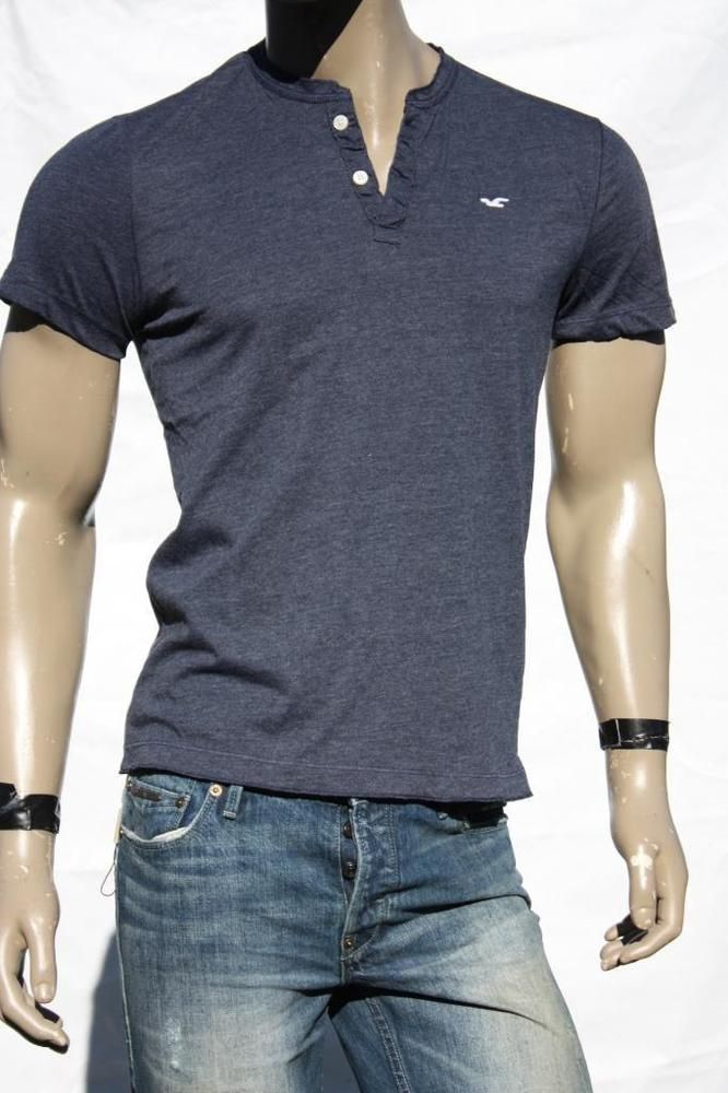 17 best images about hollister surf is up 5gables on for Mens collared henley shirt