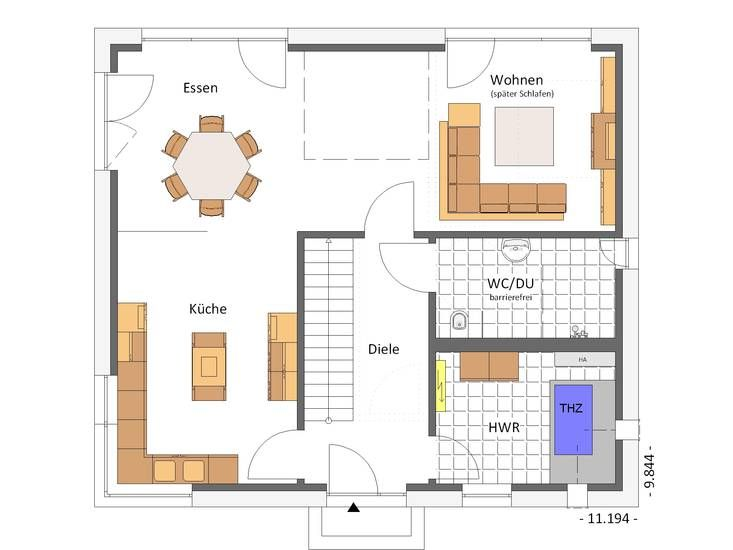 17 best images about hausbeispiele von cal classic haus on for Modernes haus 160 qm