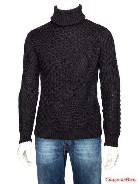 Mis Pasatiempos  Amo el Crochet: Suéter de hombre