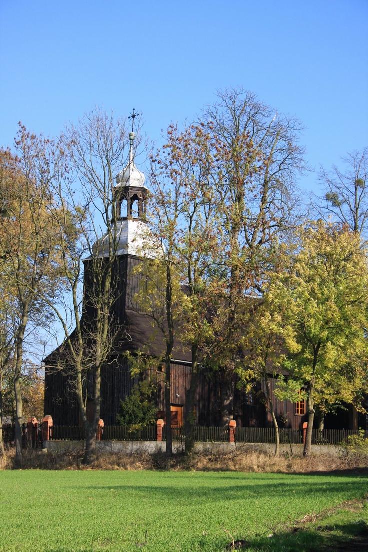 Wyjazd na szlak kościołów drewnianych - lipiec 2012