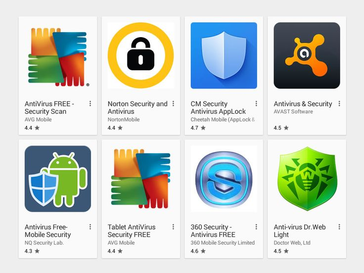 Top 5 Security Apps Android