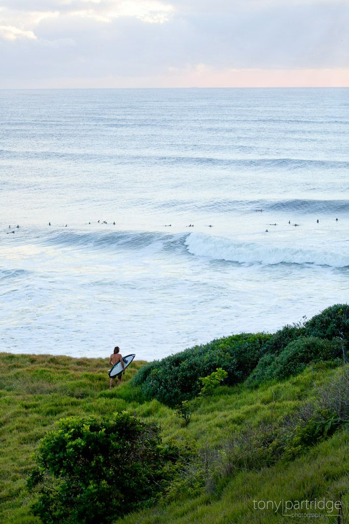 Sunrise portrait of the Lennox Head surf #surf #photography #LennoxHead