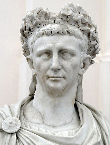 Claudius TIBERIVS CLAVDIVS CAESAR AVGVSTVS GERMANICVS Reign: January 25/26, 41 AD – October 13, 54 AD Death: October 13, 54 AD Probably poisoned by his wife Agrippina the Younger, in favour of her son Nero, possibly natural causes.