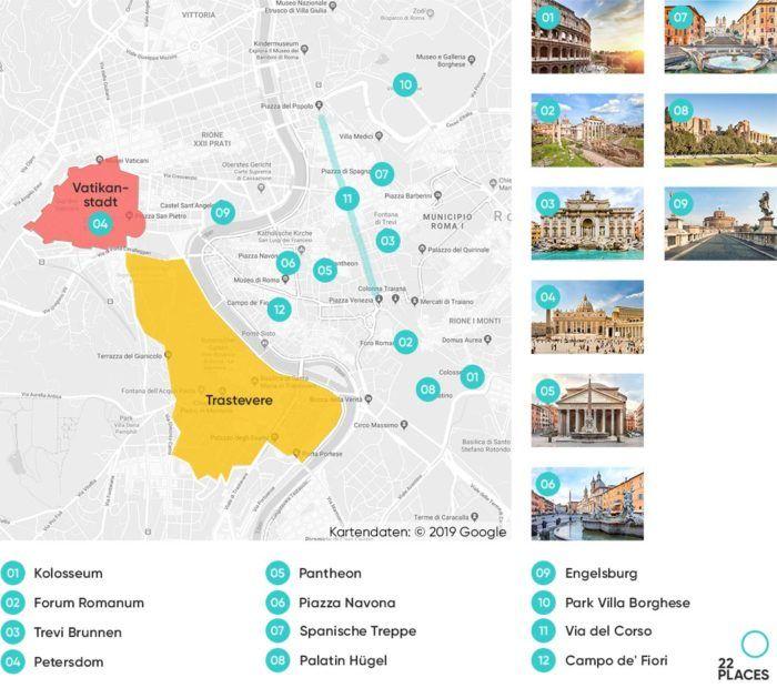 Die 22 Besten Rom Sehenswurdigkeiten Alle Infos Fotos Rom