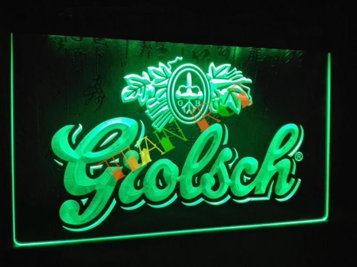 LA007- Grolsch Beer Bar Pub Club NEW LED Neon Light Sign Sign Light Neon Bar Bee