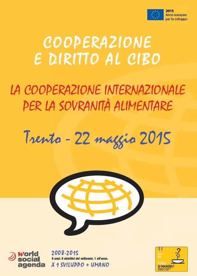 """La """"Carta di #Trento per una migliore #cooperazione"""" è un lavoro avviato nel 2008, frutto di un'elaborazione comune tra numerosi attori della #solidarietà #internazionale locali e nazionali, istituzionali e non governativi, per una nuova visione e una nuova pratica della cooperazione internazionale allo #sviluppo."""