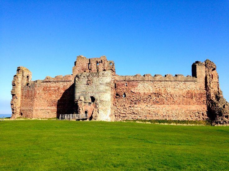 Tantallon Castle em North Berwick, East Lothian