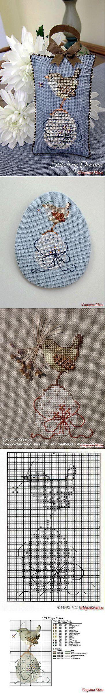 """Almohada decorativa y pinkip """"Painted Egg"""": El diario de los """"Biskornyu y otros"""" krivulki """""""" - casa las mamás"""