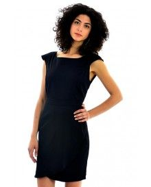 Triangle Back Black Dress @ £5.99