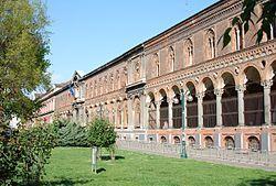 la Ca' Granda oggi 2015 sede dell'Università Statale