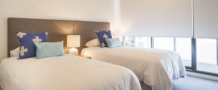 Caroline Serviced Apartments Sandringham - Three bedroom terrace apartment king split bed