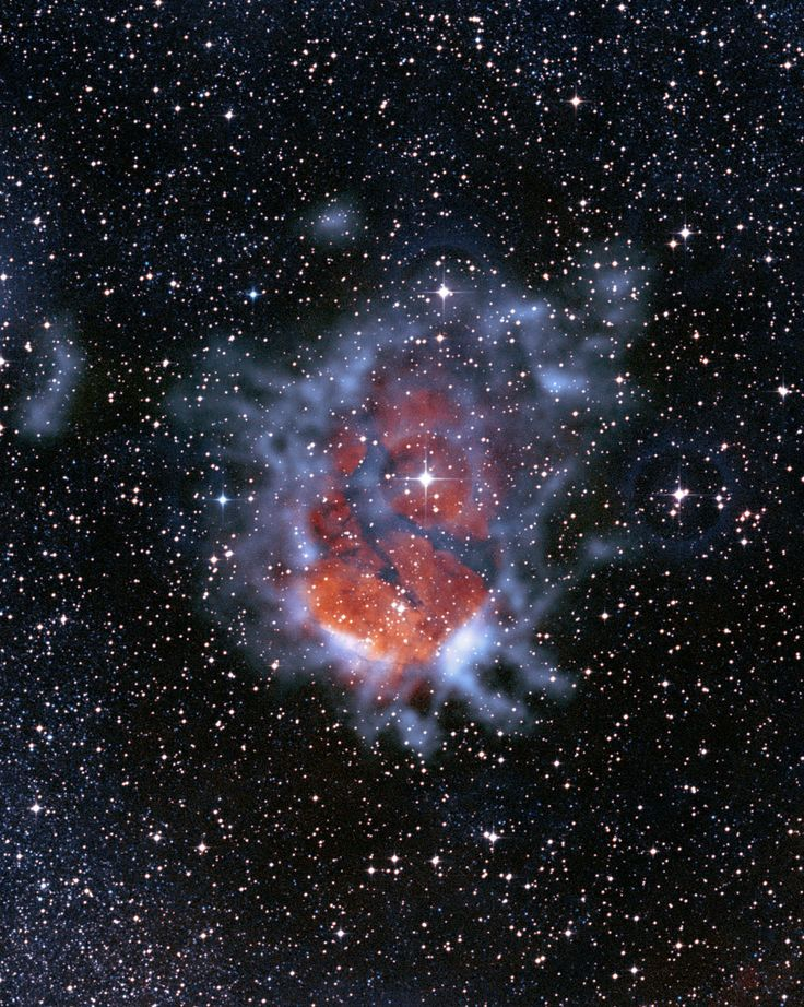 Best Images About Spacey On Pinterest - Heres hubbles first ever picture of the entire bubble nebula