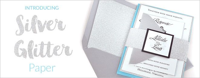 Cards & Pockets - Our Colors: Glitter Silver