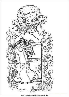 Sarah Kay A11 Disegni Da Colorare Gratis Amigurumi Pinterest