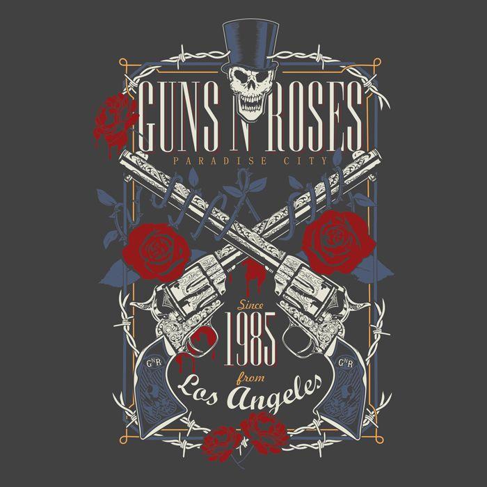 CAMISETA DO GUNS N ROSES NA REVERBCITY!