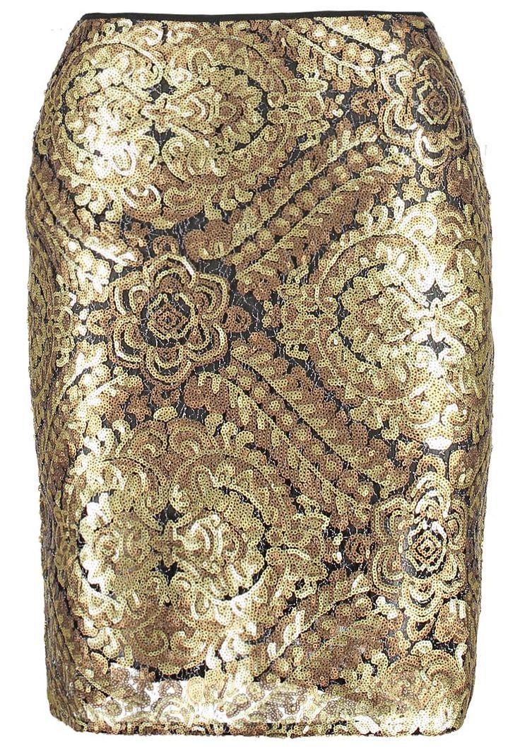 Anna Field Spódnica ołówkowa - gold za 143,1 zł (21.01.16) zamów bezpłatnie na Zalando.pl.