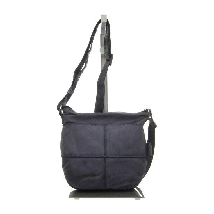 NEU: Voi Leather Design Handtaschen Beutel - 21073 BL - blau -