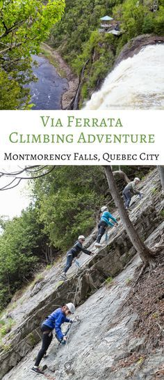 travelyesplease.com | Via Ferrata Climbing Adventure- Montmorency Falls Park, Quebec City (Blog Post) | Quebec, Canada