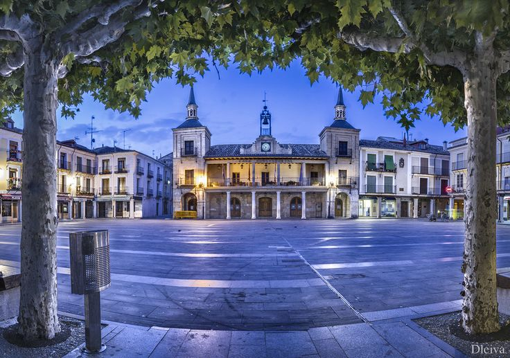 Plaza Mayor del Burgo de Osma, Soria - Spain