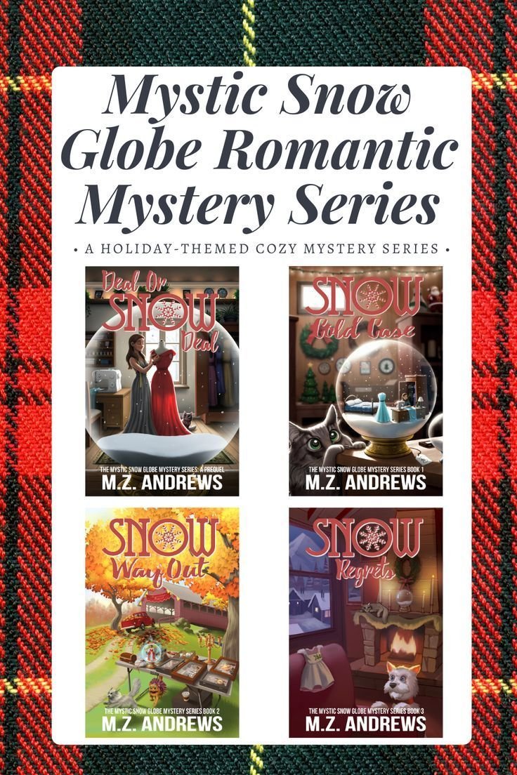 Best Christmas Romance Mystery Books 2020 The Mystic Snow Globe Romantic Mystery Series by author M.Z.