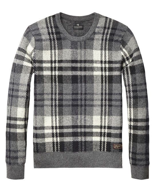 Scotch & Soda. It's a men's sweater, but a girl could be forgiven for wanting it.
