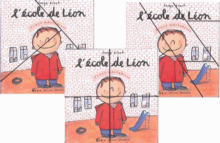 puzzles l'école de Léon