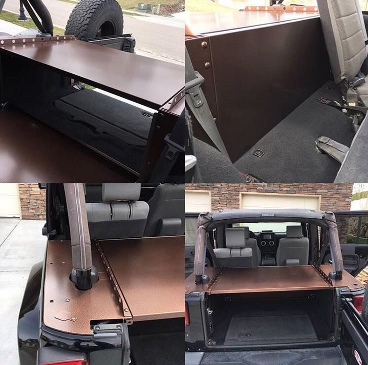 Checkout Slipstream from Diabolical Inc for the best Jeep Wrangler storage system. #jeep #jeeplife #Wrangler #jeeps #Cherokee #JeepMafia #offroad #4x4