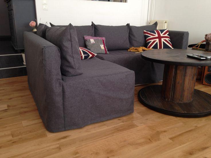 Housse canapé d'angle IKEA