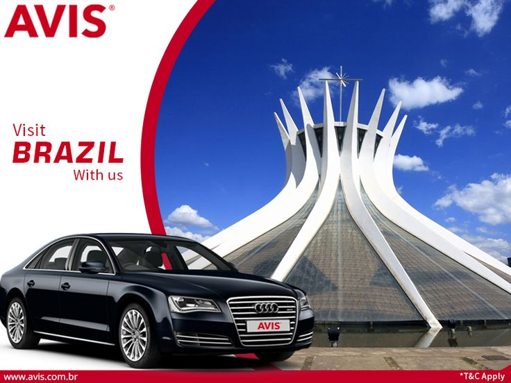 Brazil has always been a travelers' paradise. The country has some of the most strange and interesting things to offer. Your travel in Brazil will become more comfortable and rewarding with AVIS. AVIS is world's one of the finest car rental companies having all the branded and premium cars. Book a car for any location in Brazil and get 15% discount. Log on to http://bit.ly/1Gx4Z0S for more details on AVIS car rental services.