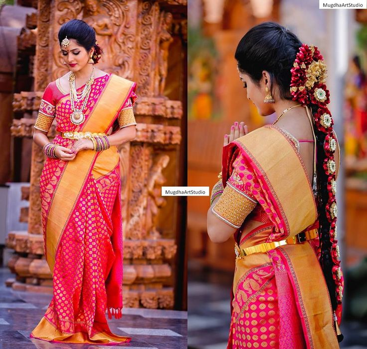 Wedding Kondai Hairstyle: 17 Best Images About Kondai & Jadai Malai On Pinterest