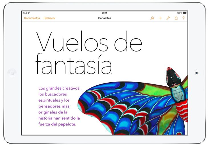 Pages #iPad #iPadAir